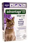 Bayer Advantage II, Large Cat, Over 9-Pound, 6-Month