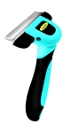Deshedding Tool & Pet Grooming Tool For Small, Medium & Large Dogs + Cats, With Short to Long Hair