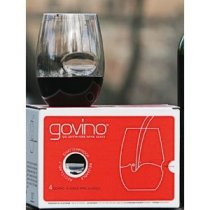 Govino Wine Glass Flexible Shatterproof Recyclable, Set of 4