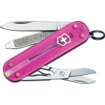 Victorinox Swiss Army Classic Knife, 58mm, Translucent Pink