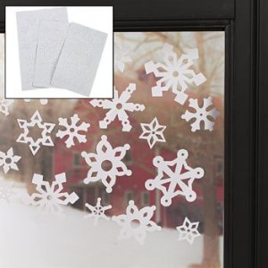69-pack Christmas Winter Snowflake Window Clings