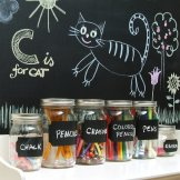 Con-Tact Brand Self-Adhesive Chalkboard Liner, 18-Inch by 6-Feet