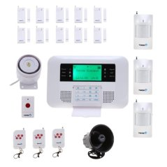 Fortress Security Store GSM-C Wireless Cellular GSM Home Security Alarm System Auto Dial System DIY Kit