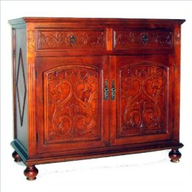 Roman Cabinet (Light Red Brown)