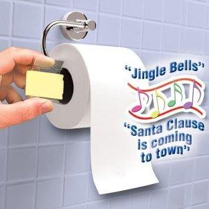 Singing toilet paper