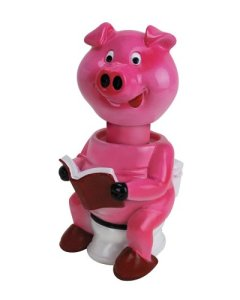 Squirting pig soap dispenser