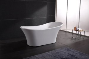 AKDY Bathroom White Color FreeStand Acrylic Bathtub AZ-F274