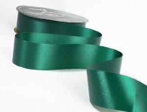 Berwick 1-7.16-Inch Wide by 100-Yard Spool Flora Satin Craft Ribbon, Hunter