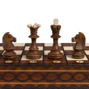 Chess Set - Junior European International - Handcrafted in Poland