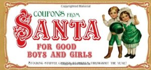 Coupons from Santa for Good Boys and Girls - Stocking stuffer coupons to redeem throughout the year