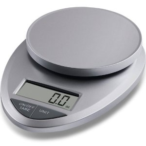 EatSmart Precision Pro - Multifunction Digital Kitchen Scale w Extra Large LCD and 11 Lb Capacity