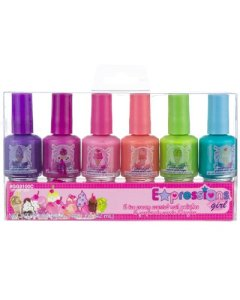 Expressions Girl 6-piece Ice Cream Scented Nail Polish Set 1.44oz.(42ml)