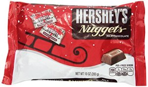Hershey's Christmas Milk Chocolate Nuggets, 10-Ounce