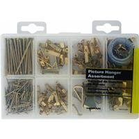 Hillman Fastener Corp 130251 Picture Hanger Assortment Kit