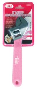IIT 88050 Ladies Pink 6-Inch Adjustable Wrench
