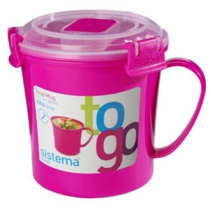 Sistema Soup To Go Mug - 656ml Pink