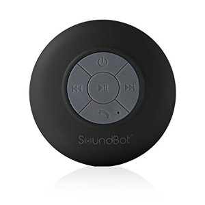 SoundBot® SB510 HD Water Resistant Bluetooth 3.0 Shower Speaker, Handsfree Portable Speakerphone