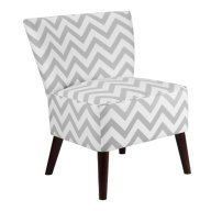 Dorel Asia Chevron Accent Chair