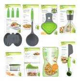 Jokari Healthy Steps Portion Control Diet - Weight Loss 10pc Utensil Kitchen Tool Set