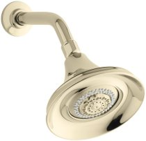 KOHLER K-10284-AF Forte Multifunction Showerhead, Vibrant French Gold