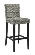 Linon Morocco Bar Stool - Charcoal