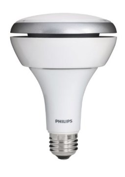 Philips 423798 13-Watt (65 Watt) BR30 Indoor Soft White (2700K) Flood LED Light Bulb, Dimmable