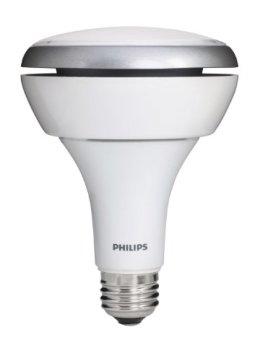 Philips 423798 13-Watt (65 Watt) BR30 Indoor Soft White (2700K) Flood LED Light Bulb, Dimmable