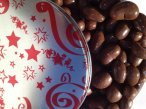 Brilliant Star with Handcrafted Chocolate Covered Mixed Nuts -- a Valentine's Day Gift Tin by Nut Roaster's Reserve featuring Almonds, Walnuts, Pecans, Brazils, Hazelnuts