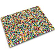 Joseph Joseph 12 by 16-Inch Worktop Saver with Mini Mosaic Design