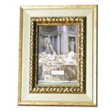 Lawrence Frames Carved Antique Silver And Gold 4x6 Picture Frame