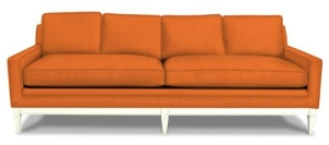Orange Modern Templeton Sofa Jonathan Adler