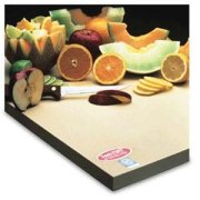 Teknor Apex Sani-Tuff Rubber Cutting Board 18 x 24 x 1 inch