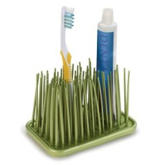 Umbra Grassy Organizer for Toothbrush, Avocado