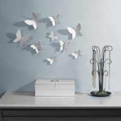 Umbra Mariposa Wall Decor, Set of 9
