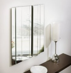 Umbra Strip Wall-Mount Mirrors, Set of 7