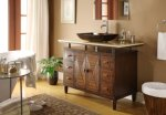 48 inch Verdana Vessel Sink Bathroom Vanity - Faucet & vessel all inclusive Q136-8X