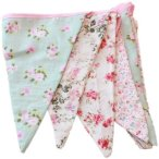 Floral Fabric Bunting ~ Shabby Chic English Country Garden Vintage Style