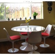 LexMod 40inch Eero Saarinen Style Tulip Dining Table