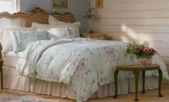 Simply Shabby Chic Bramble Rose 3 Piece Duvet Set - KING Size