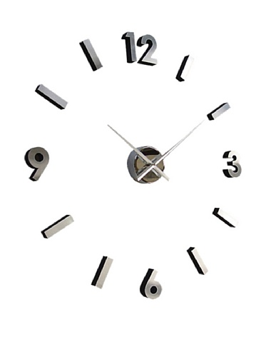 Do It Yourself Aluminum Clock (30 inch) - Numbers