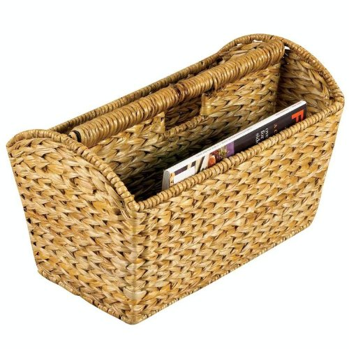 Household Essentials Banana Leaf Magazine Rack, Natural