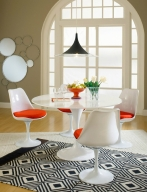 Lippa 36 inch Dining Table in White
