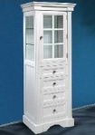 Newport Linen Tower Finish White from Empire Industries