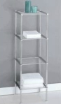 Organize It All Metro 4-Tier Shelf (16984)