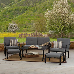 Strathwood Basics 6-Piece All-Weather Furniture Set