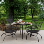 Strathwood Basics Steel Mesh Dining Table
