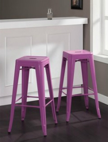 Tabouret Orchid 30-inch Counter Stools (Set of 2)