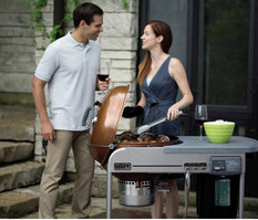 Weber 1482001 Performer Platinum Charcoal Grill, Copper