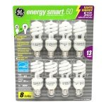 GE 13-Watt Energy SmartTM - 8 Pack - 60 watt