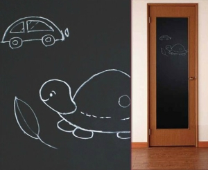IMAGE® Removable Decorative Blackboard Chalkboard Wall Paper Sticker Decal 200 x 45cm